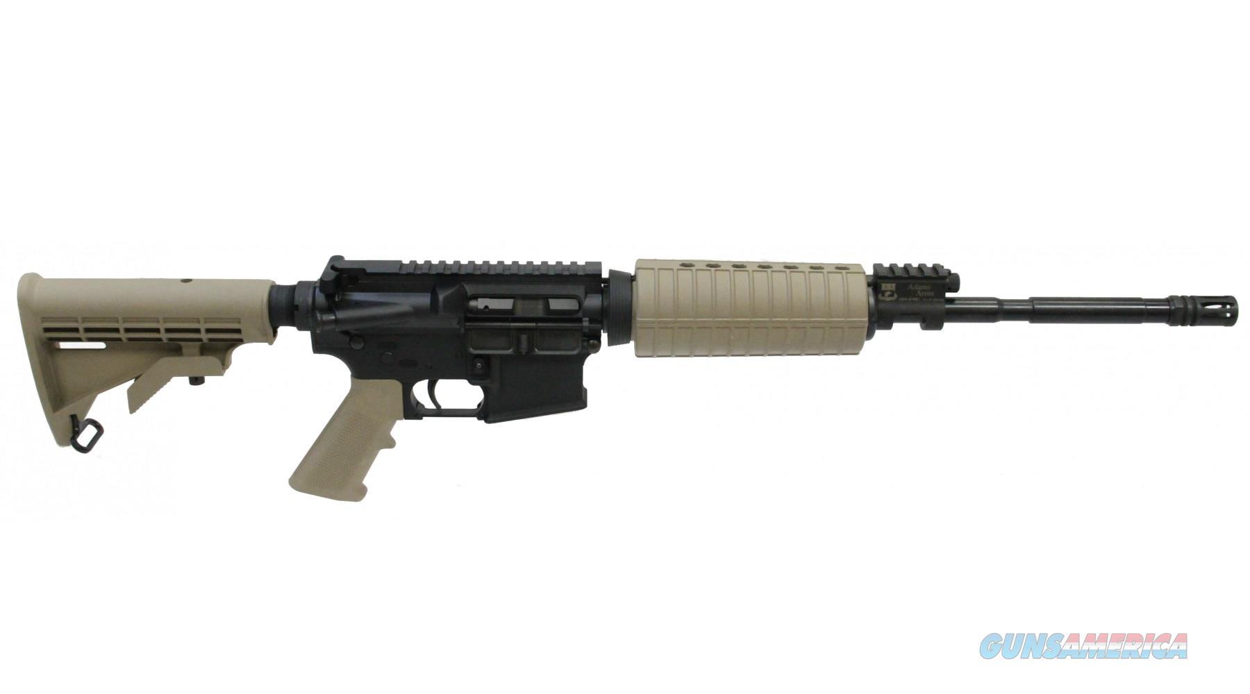 "ADAMS ARMS AGENCY BASE PISTON AR-15 AR15 16"" FDE SKU: FGAA-00225-R  Guns > Rifles > AR-15 Rifles - Small Manufacturers > Complete Rifle"