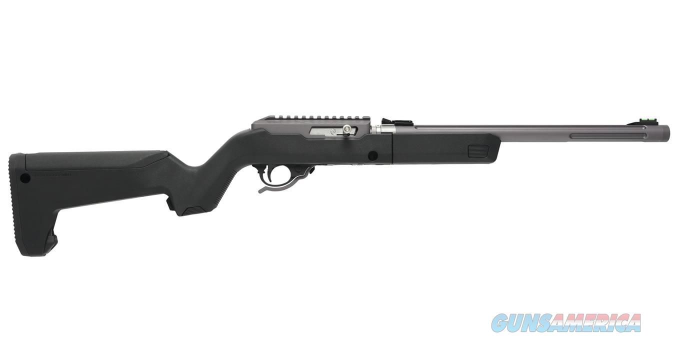 TACTICAL SOLUTIONS X-RING MAGPUL BACKPACKER BLACK / GUN METAL GRAY 10/22 .22 LR TD-GMG-B-B-BLK   Guns > Rifles > Ruger Rifles > 10-22