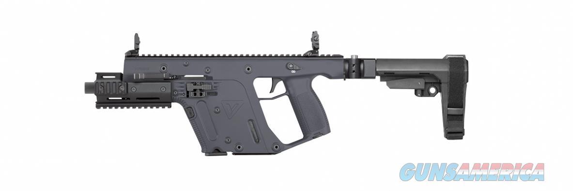 """Kriss Vector SDP-SB .45 ACP 6.5"""" TB Combat Grey KV45-PSBCG30   Guns > Pistols > Kriss Tactical Pistols"""