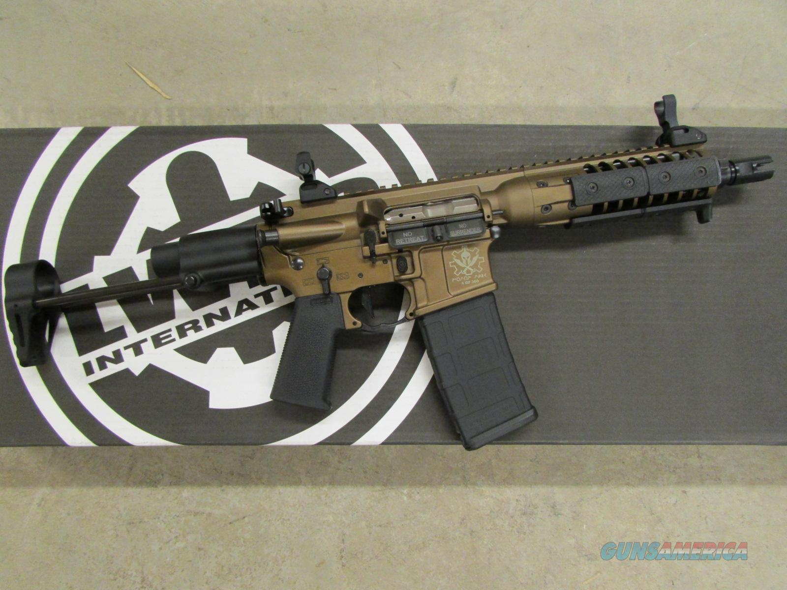 "LWRC Spartan XIPHOS Burnt Bronze AR-15/M4 SBR 8"" 5.56 NATO  Guns > Rifles > AR-15 Rifles - Small Manufacturers > Complete Rifle"