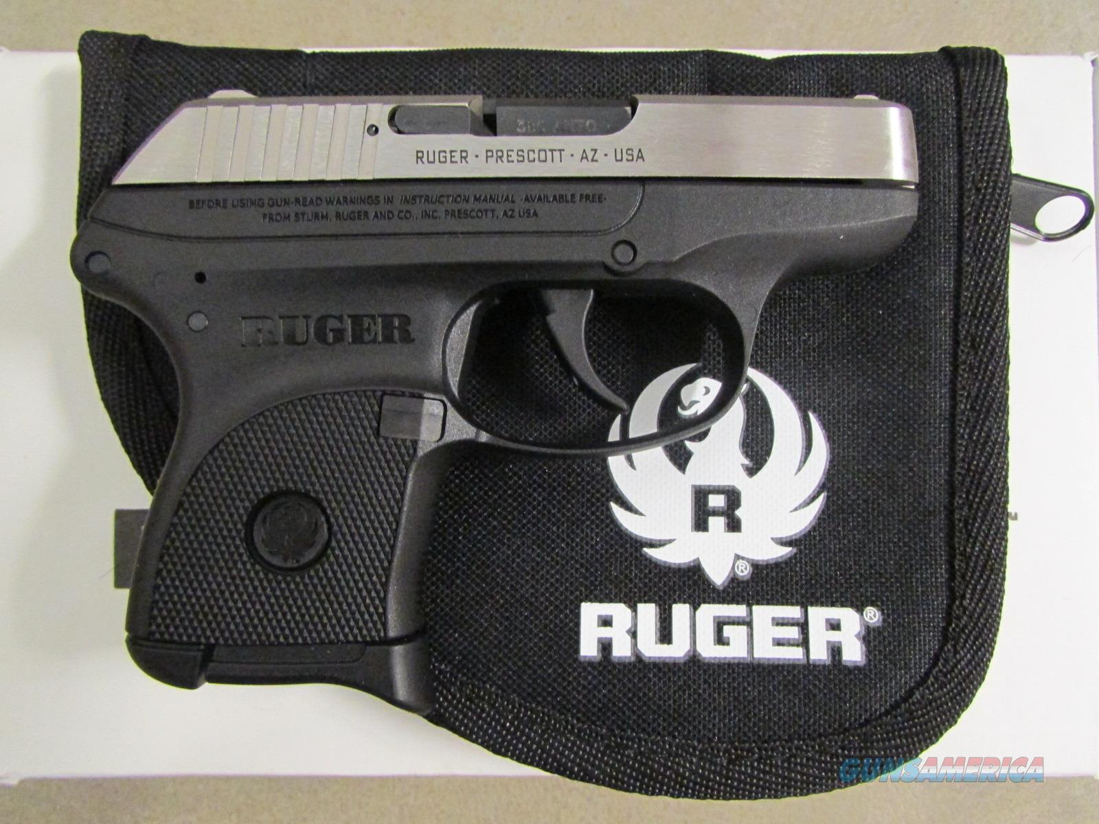 Ruger LCP Stainless Slide .380 ACP 3730  Guns > Pistols > Ruger Semi-Auto Pistols > LCP