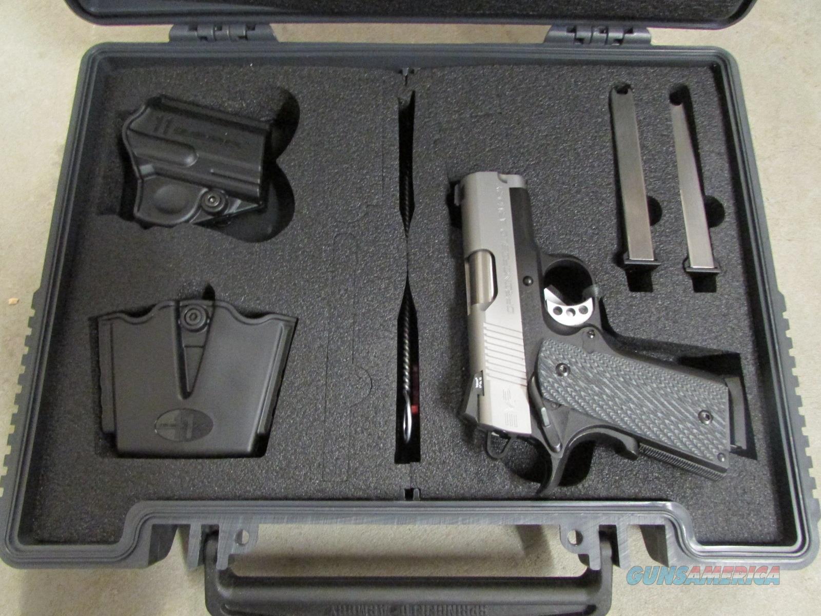 Springfield Micro 1911 EMP Bi-Tone .40 S&W PI9241LP  Guns > Pistols > Springfield Armory Pistols > 1911 Type