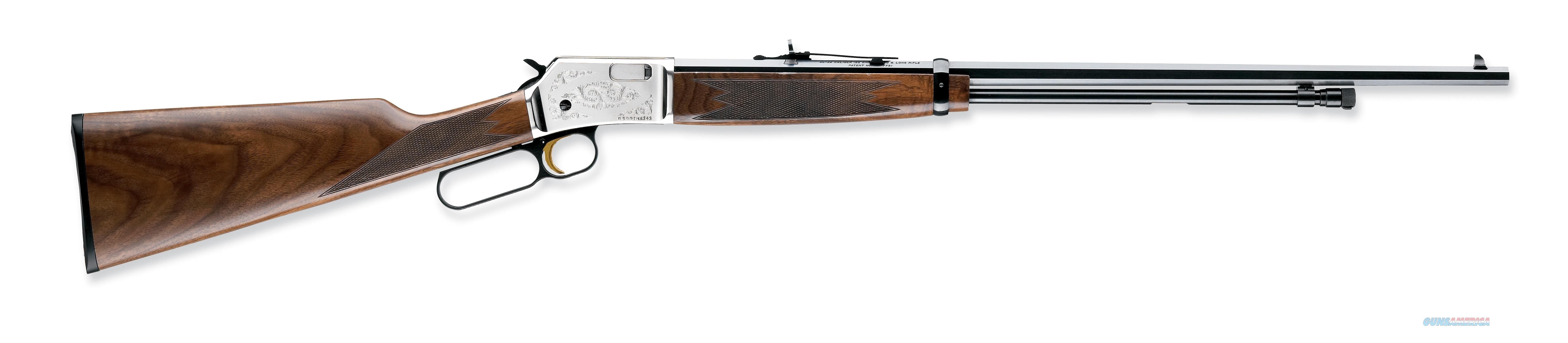 "Browning BL-22 FLD .22 S/L/LR Nickel 24"" Octagon 024105155  Guns > Rifles > Browning Rifles > Lever Action"
