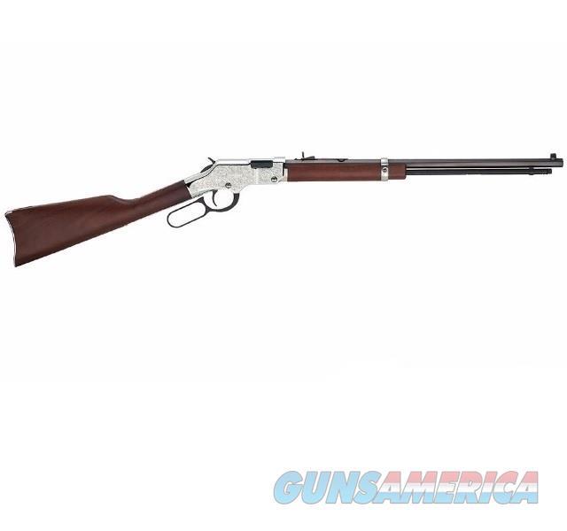 "Henry Silver Eagle Engraved .17 HMR 20"" H004SEV  Guns > Rifles > Henry Rifle Company"