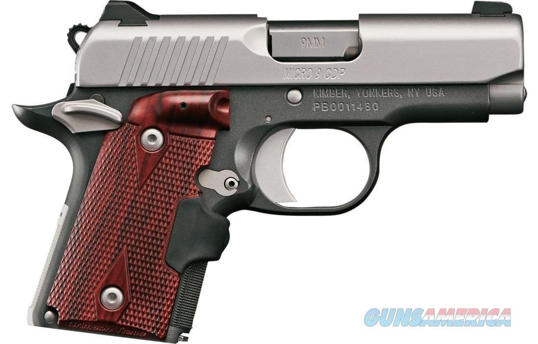 "Kimber Micro 9 CDP (LG) 9mm Crimson Trace 3.15"" 3300098   Guns > Pistols > Kimber of America Pistols > Micro 9"