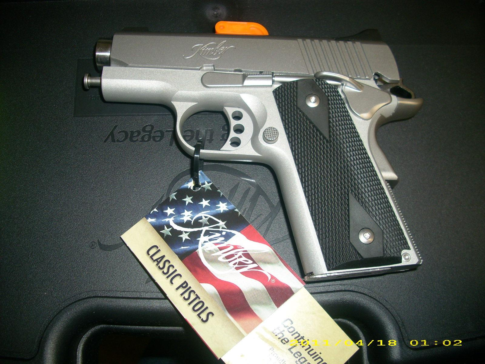 Kimber STS Ultra Carry 45 ACP  Guns > Pistols > Kimber of America Pistols