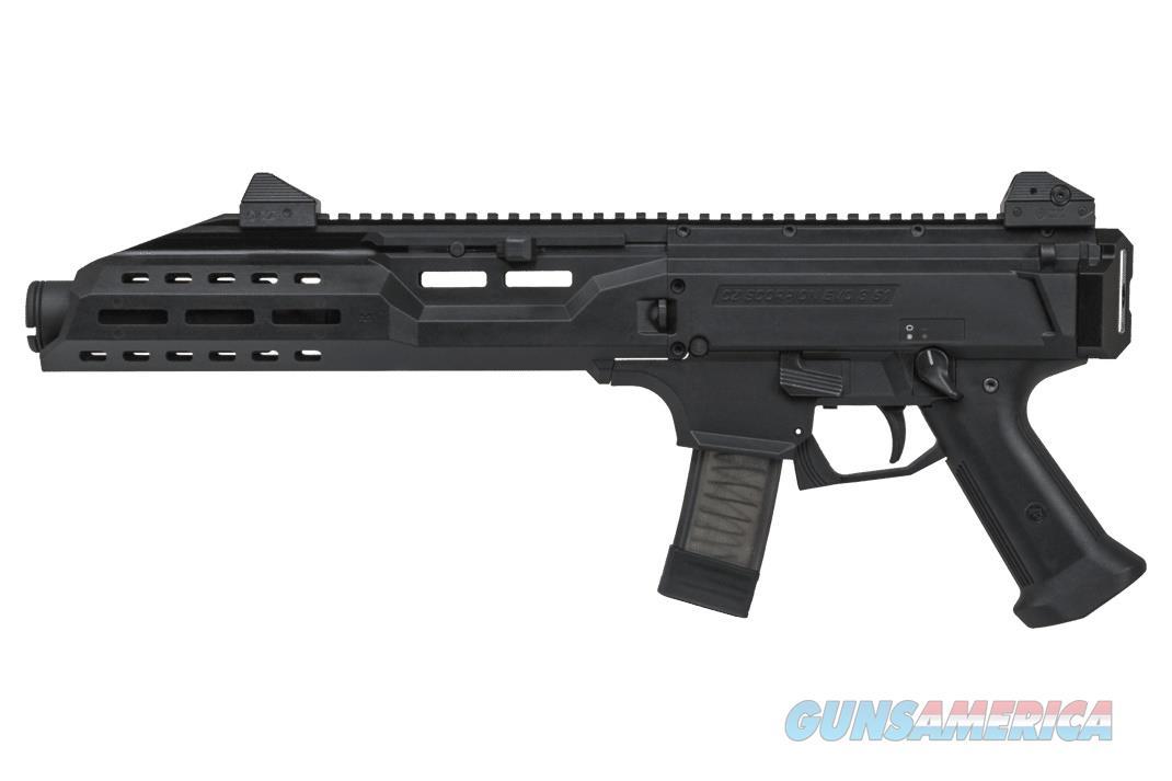 "CZ-USA Scorpion Evo 3 S1 w/Flash Can 9mm 7.72"" Threaded 91353   Guns > Pistols > CZ Pistols"