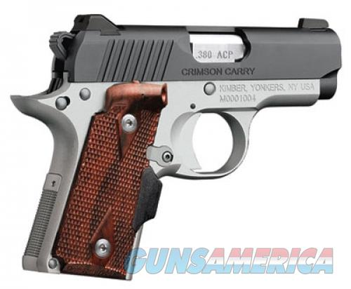"Kimber Micro Crimson Carry 2.75"" .380 ACP 3300088  Guns > Pistols > Kimber of America Pistols > Micro"