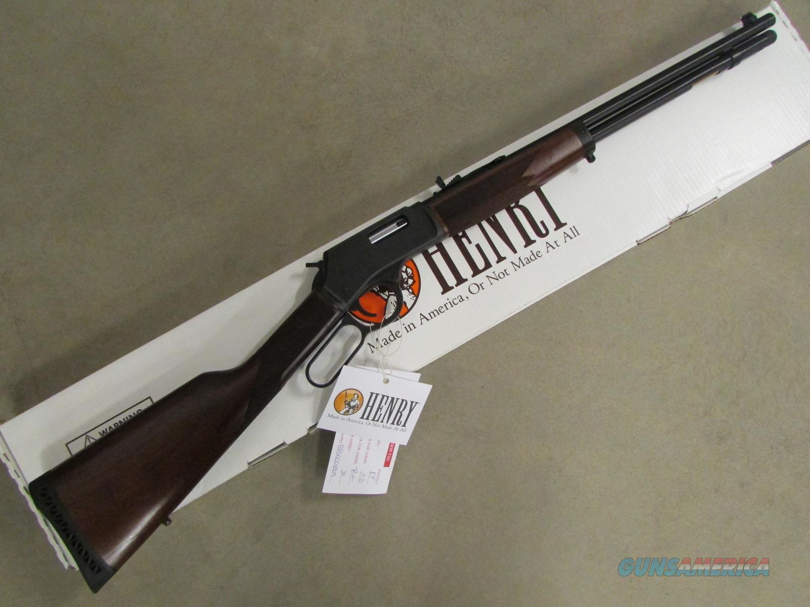 "Henry Big Boy Steel 20"" Blued Lever-Action .357 Mag  Guns > Rifles > Henry Rifle Company"