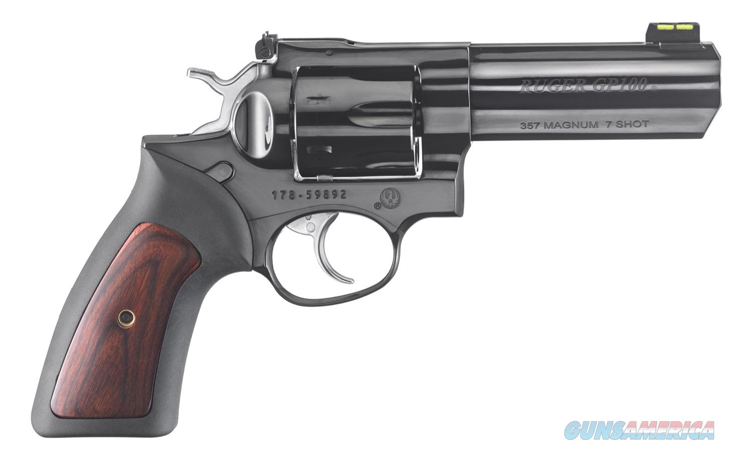"Ruger GP100 .357 Magnum FO 4.2"" Blued TALO 7 Rds 1772   Guns > Pistols > Ruger Double Action Revolver > GP100"