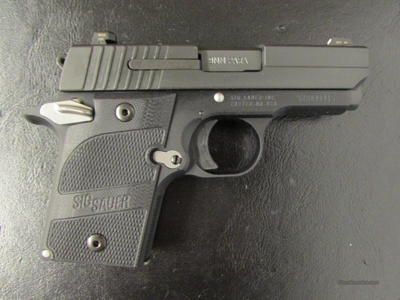 Sig Sauer P938 Nightmare Sub-Compact 9mm Luger/PARA. 938-9-NMR-AMBI  Guns > Pistols > Sig - Sauer/Sigarms Pistols > Other