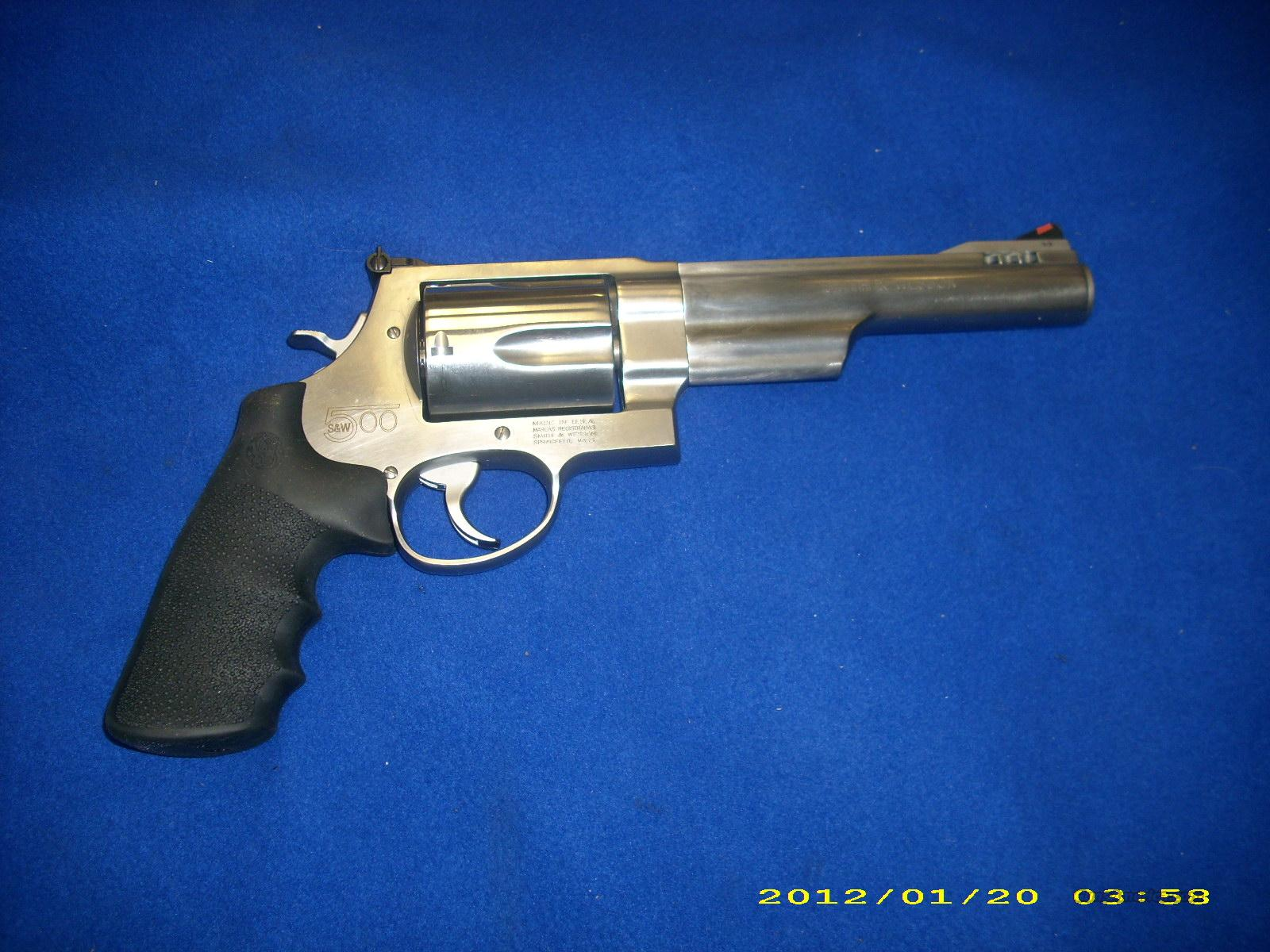 Smith and Wesson model 500   Guns > Pistols > Smith & Wesson Revolvers > Full Frame Revolver