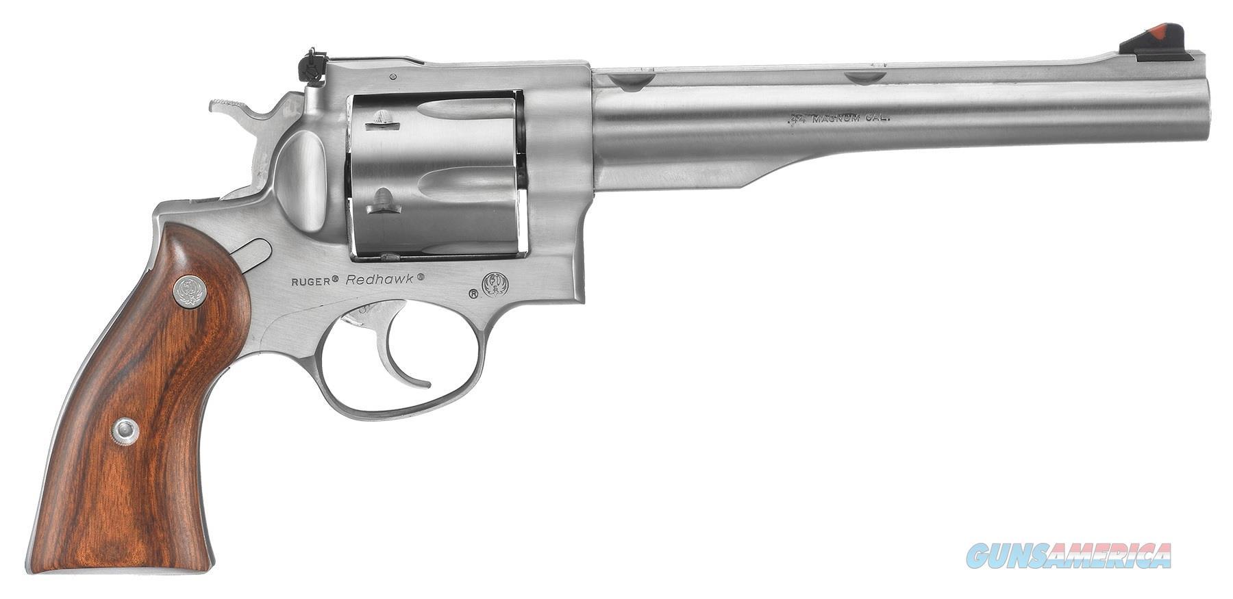 "Ruger Redhawk .44 Rem Mag 7.5"" SS 6 Rds 5003   Guns > Pistols > Ruger Double Action Revolver > Redhawk Type"