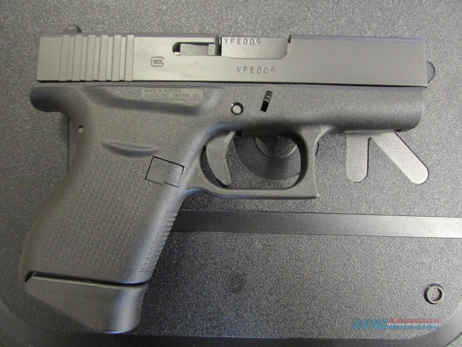 "Glock G43 3.39"" Single Stack Pistol 9mm PI4350201  Guns > Pistols > Glock Pistols > 42"