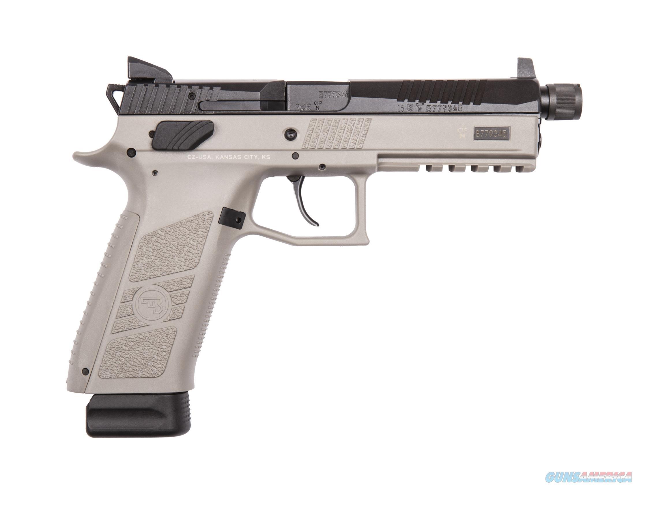 CZ-USA CZ P-09 Urban Grey Suppressor-Ready 9mm 91269  Guns > Pistols > CZ Pistols