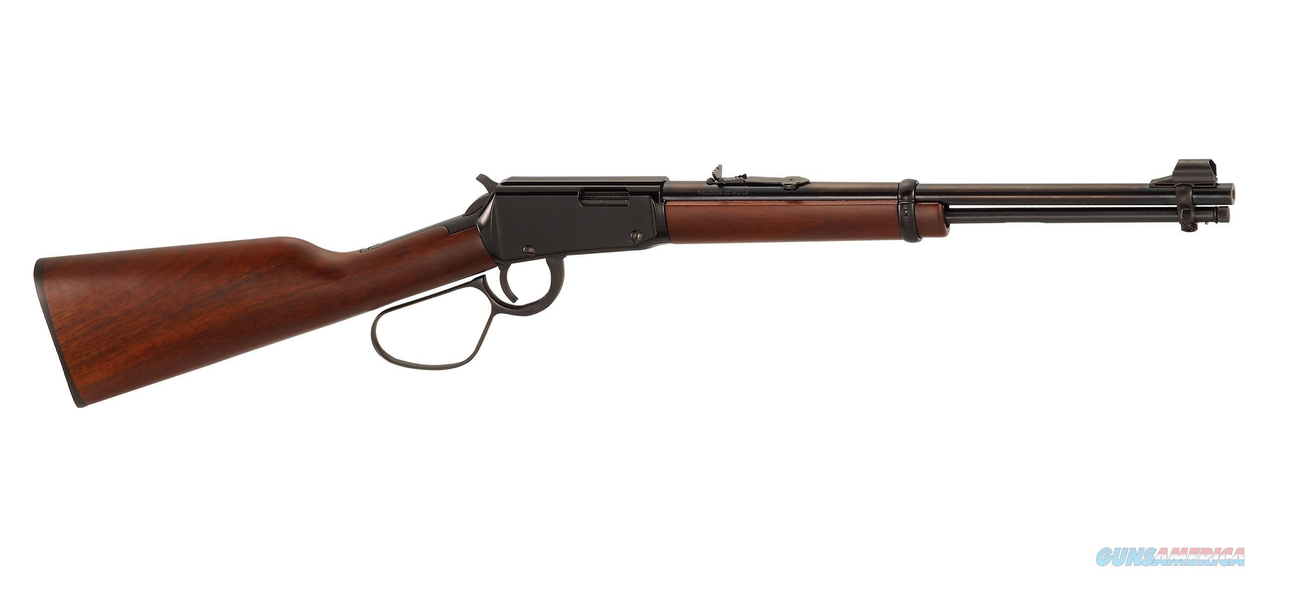 "Henry Lever-Action .22 S/L/LR Carbine Large Loop 16.125"" H001L   Guns > Rifles > Henry Rifles - Replica"
