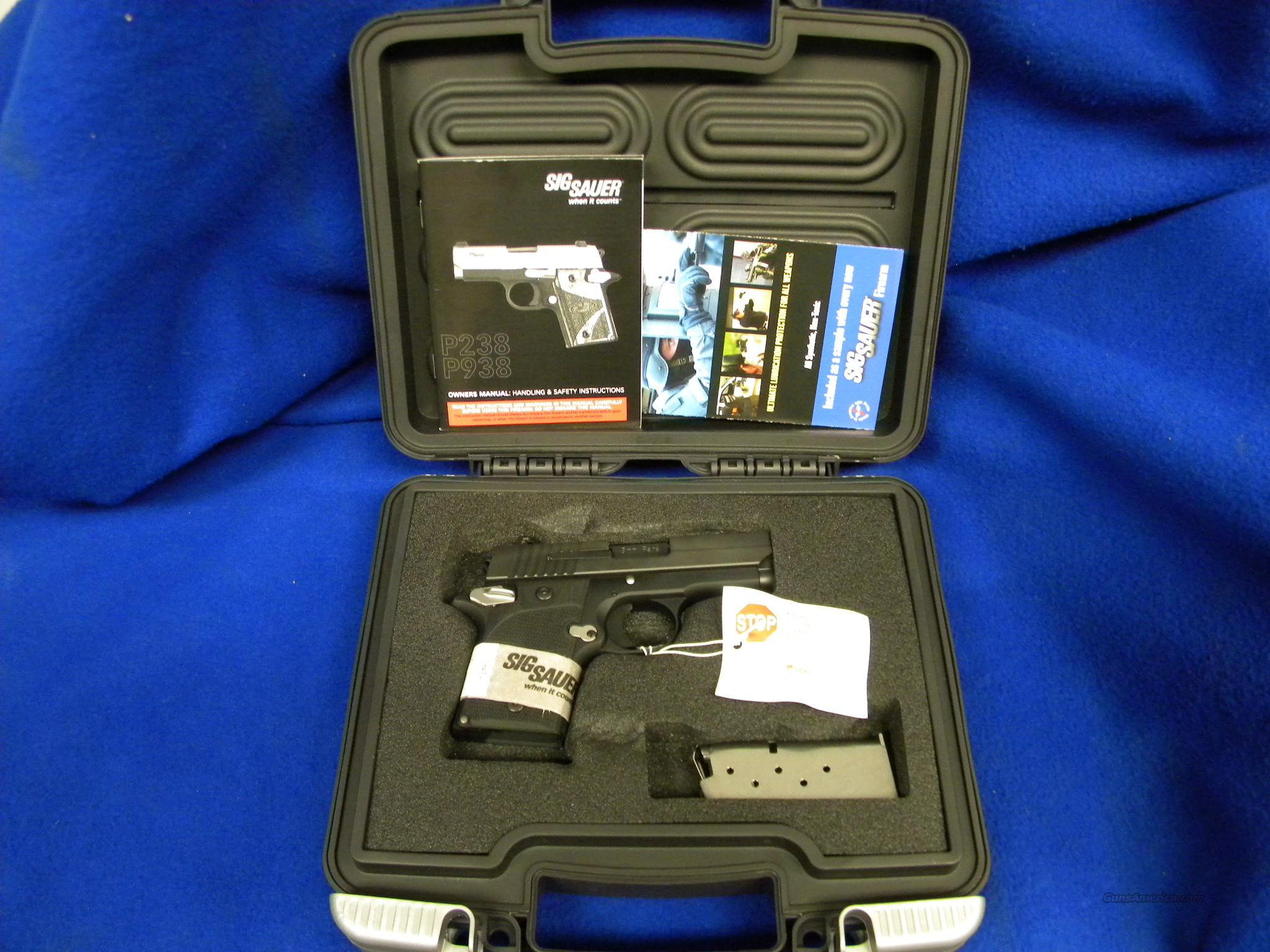 Sig Sauer P938 9mm Nightmare  Guns > Pistols > Sig - Sauer/Sigarms Pistols > Other