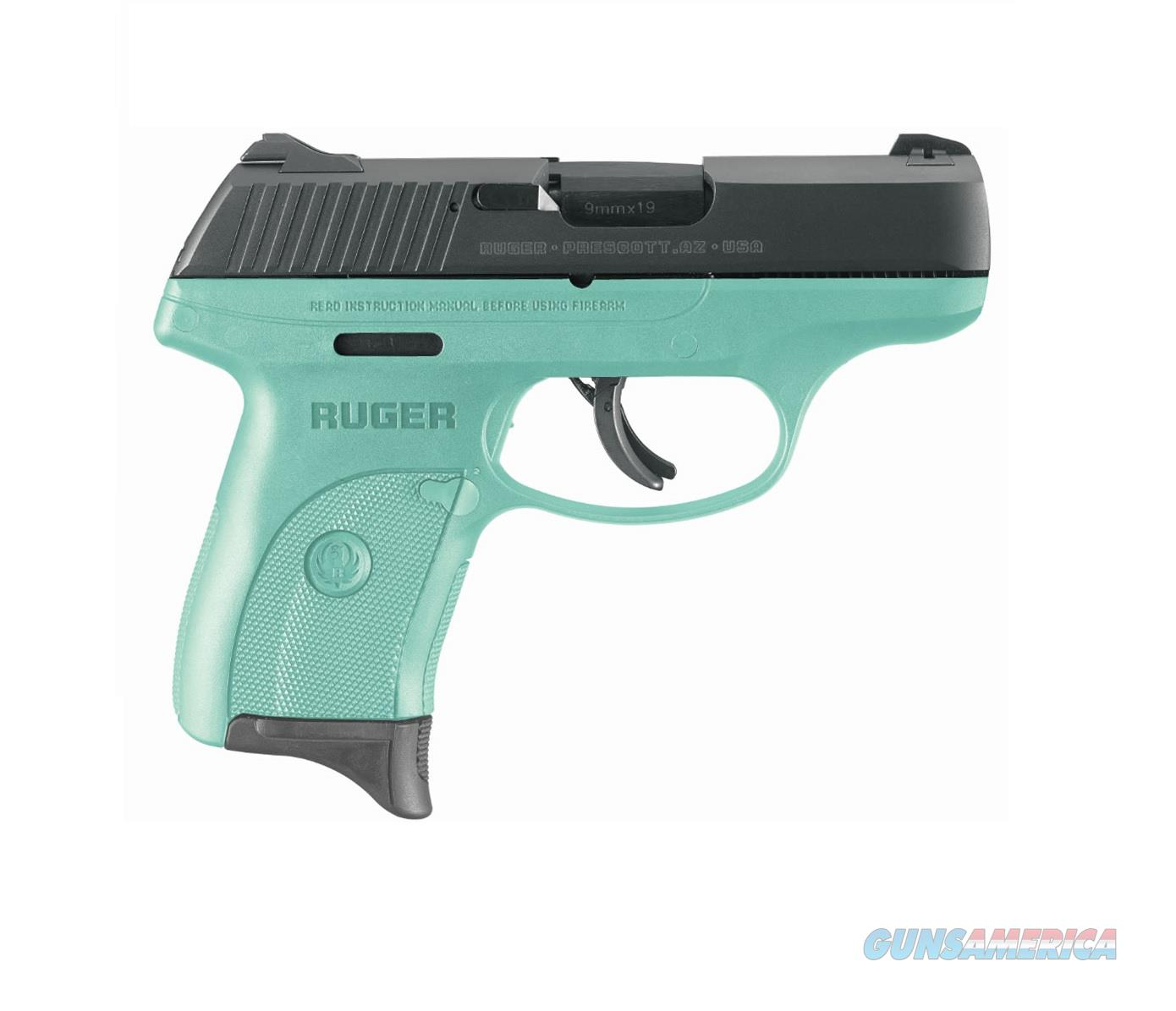 "Ruger LCPs 9mm TALO Exclusive Turquoise 3.12"" 3262   Guns > Pistols > Ruger Semi-Auto Pistols > LC9"