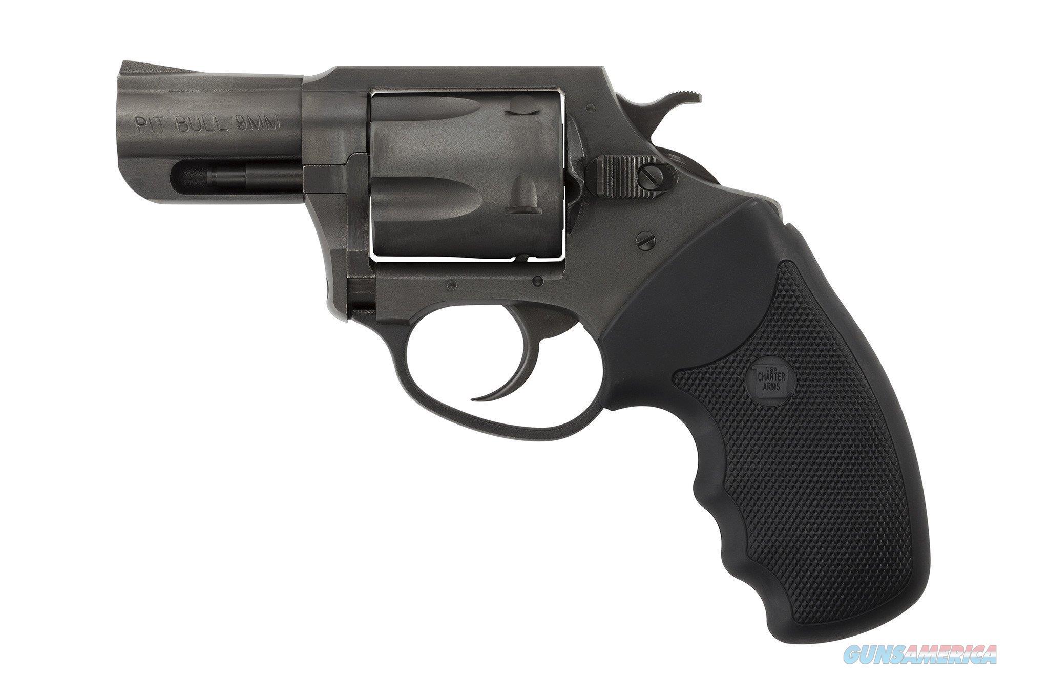"""Charter Arms Pitbull 9mm DA/SA 2.2"""" 5-Shot BlackNitride 69920  Guns > Pistols > Charter Arms Revolvers"""