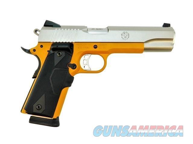 RUGER SR1911 .45 ACP LASERGRIPS CERAKOTE DESERT GOLD   Guns > Pistols > Ruger Semi-Auto Pistols > 1911
