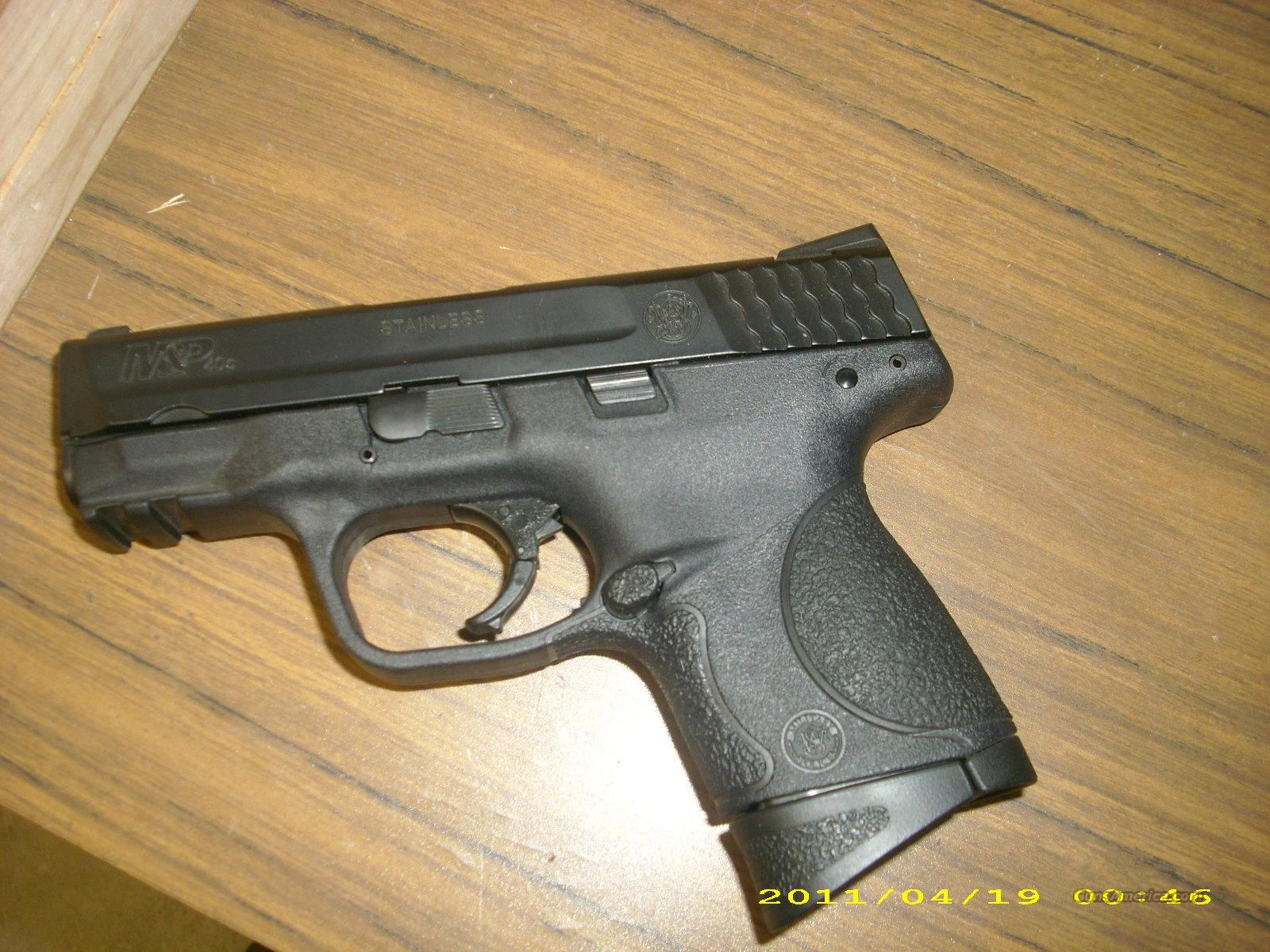 Smith and Wesson M&P .40  Guns > Pistols > Smith & Wesson Pistols - Autos > Polymer Frame