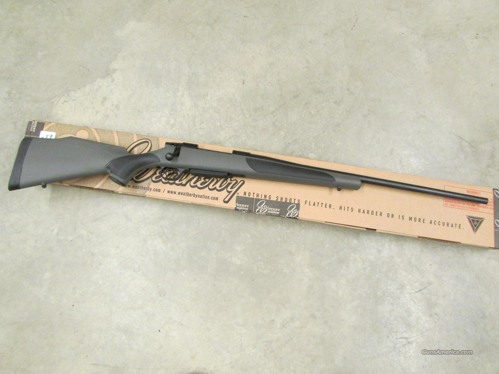 Weatherby Vanguard Series 2 Blued Bolt-Action .25-06 Rem. VAS256RR4O  Guns > Rifles > Weatherby Rifles > Sporting