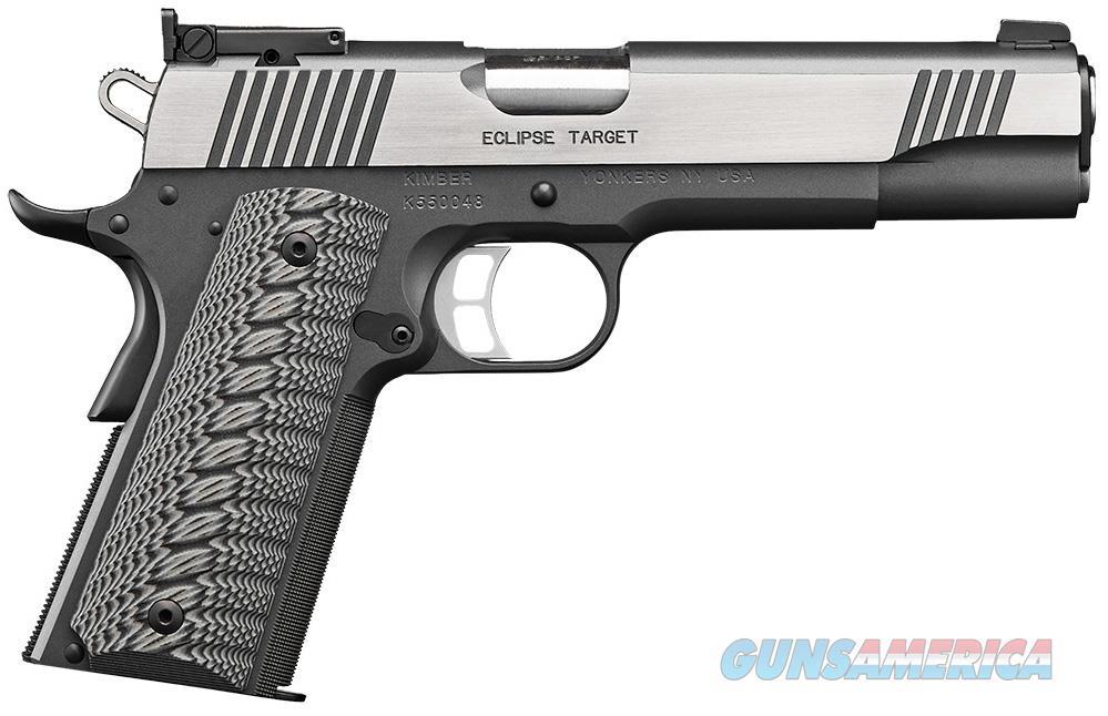 "Kimber Eclipse Target 1911 (2017) .45 ACP 5"" 8 Rds 3000241   Guns > Pistols > Kimber of America Pistols"