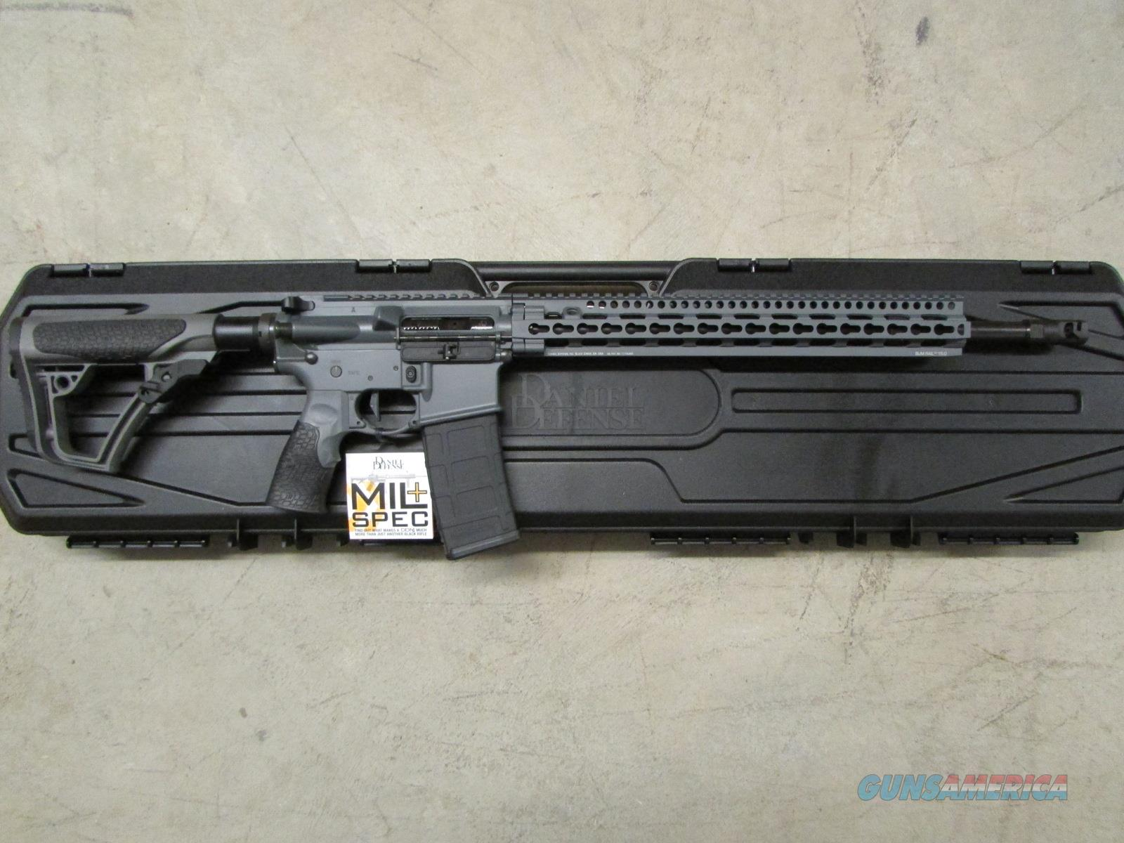 DANIEL DEFENSE DDM4 V11 PRO TORNADO GREY AR-15 5.56 NATO  Guns > Rifles > Daniel Defense > Complete Rifles