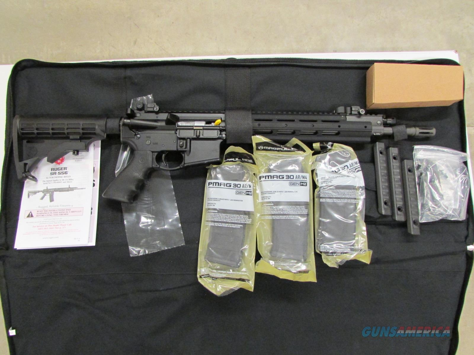 Ruger SR-556 AR-15 Semi-Auto 5.56 NATO 5913  Guns > Rifles > Ruger Rifles > SR Series