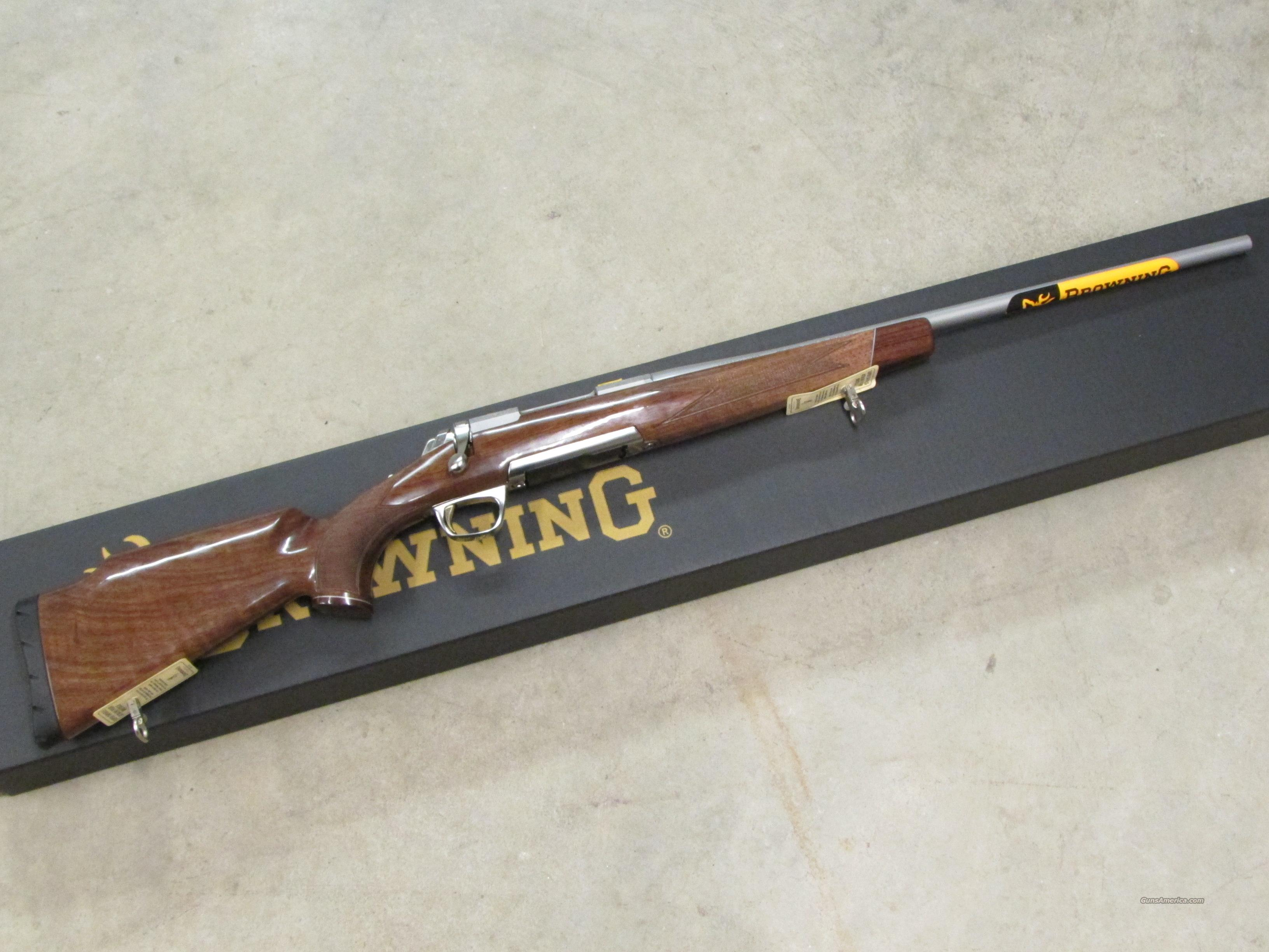 "Browing X-Bolt White Gold .308 Winchester 22""  Guns > Rifles > Browning Rifles > Bolt Action > Hunting > Stainless"