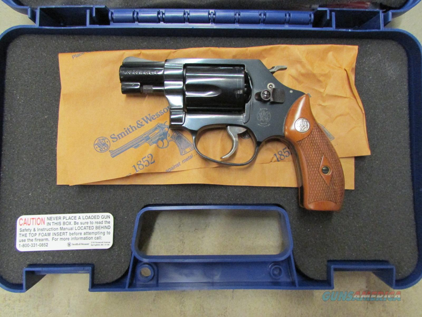 "Smith & Wesson Model 36  Blued 1 7/8"" .38 Special  Guns > Pistols > Smith & Wesson Revolvers > Full Frame Revolver"
