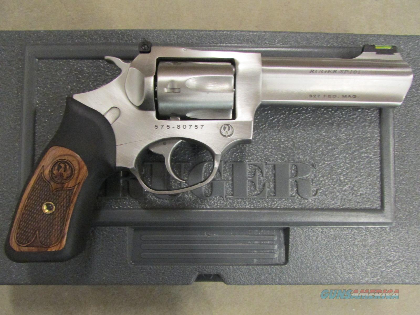 "Ruger SP101 Double-Action 4.2"" Stainless .327 Fed Mag 5773  Guns > Pistols > Ruger Double Action Revolver > SP101 Type"