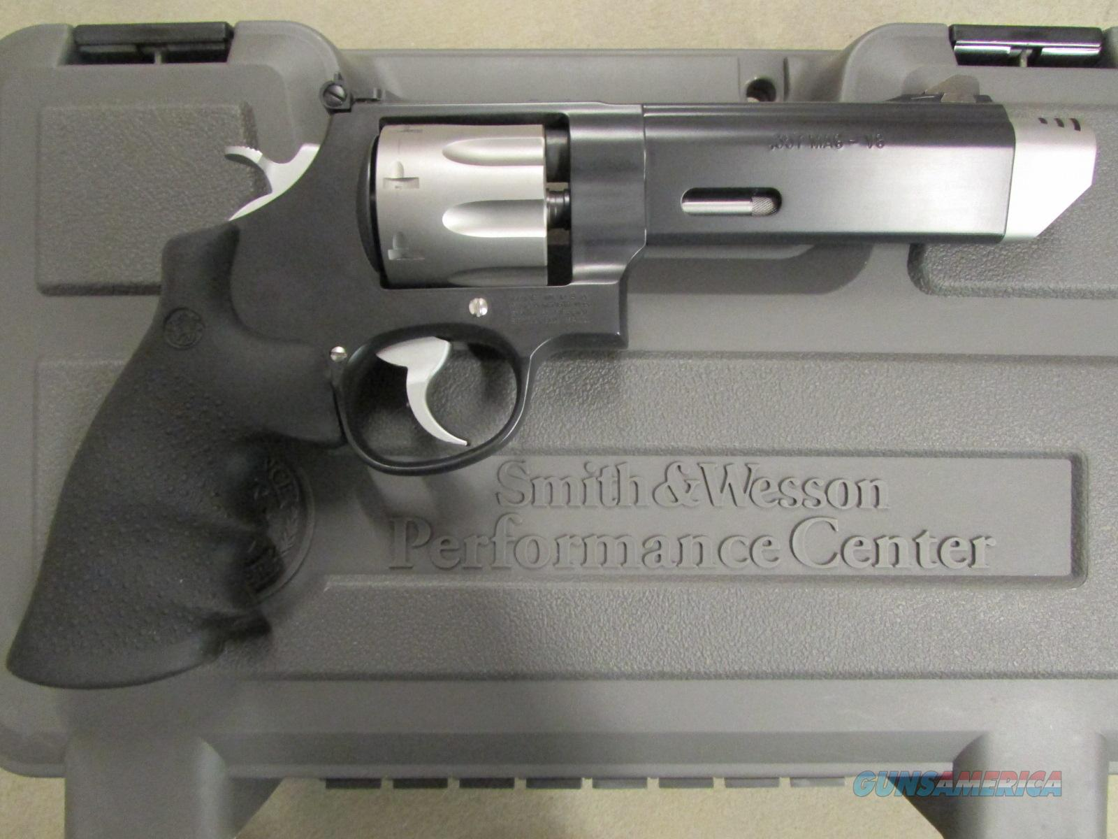 Smith & Wesson Performance Center Model 627 V-Comp .357 Mag.  Guns > Pistols > Smith & Wesson Revolvers > Performance Center