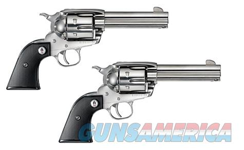"Ruger SASS Vaquero 2-Gun Set .357 Magnum 4.62"" Stainless 5133  Guns > Pistols > Ruger Single Action Revolvers > Cowboy Action"