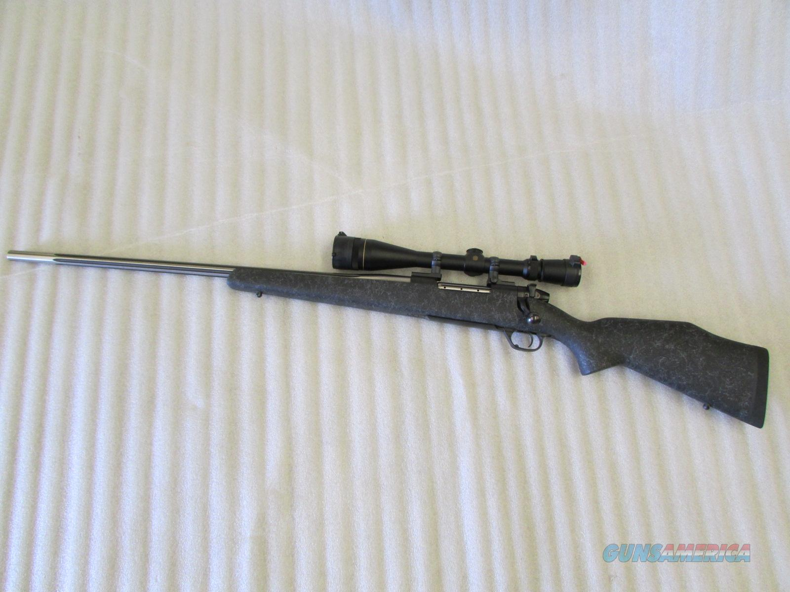 Weatherby Mark V .300 WBY Mag Left-Handed with Leupold VX-III 6.5-20X Scope  Guns > Rifles > Weatherby Rifles > Sporting