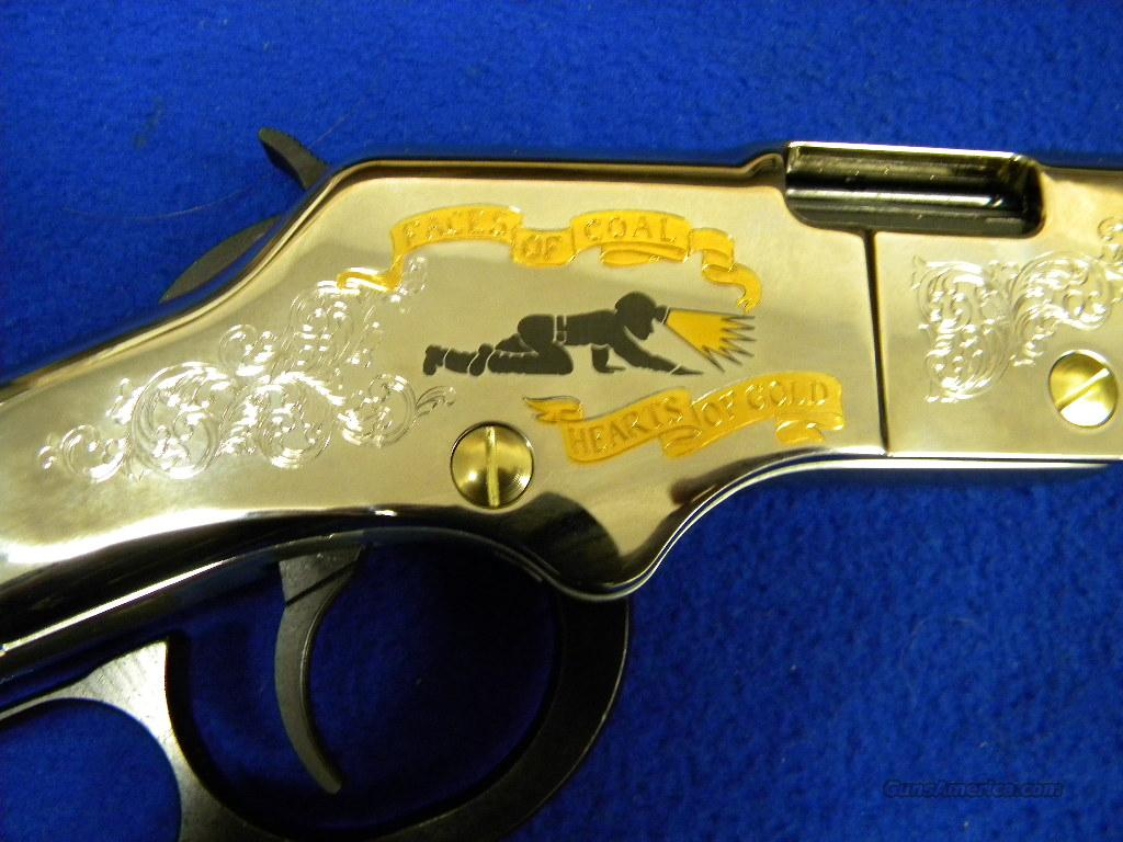 Special Edition Henry Golden Boy Coal Miners Tribute .22LR Lever Action  Guns > Rifles > Henry Rifle Company