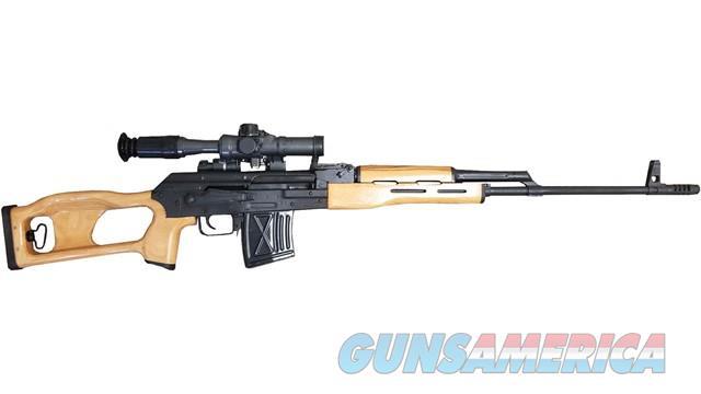 Romarm PSL54 Dragunov Sniper SVD 7.62x54R w/Scope RI3324-N   Guns > Rifles > Century International Arms - Rifles > Rifles