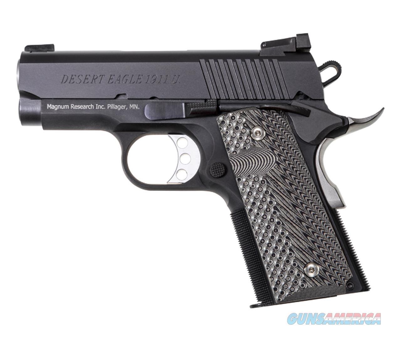 """Magnum Research Desert Eagle 1911 U .45 ACP 3"""" DE1911U  Guns > Pistols > Magnum Research Pistols"""