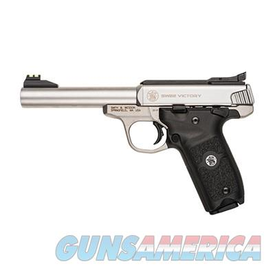 "Smith & Wesson SW22 Victory Stainless .22 LR 5.5"" 108490  Guns > Pistols > Smith & Wesson Pistols - Autos > .22 Autos"