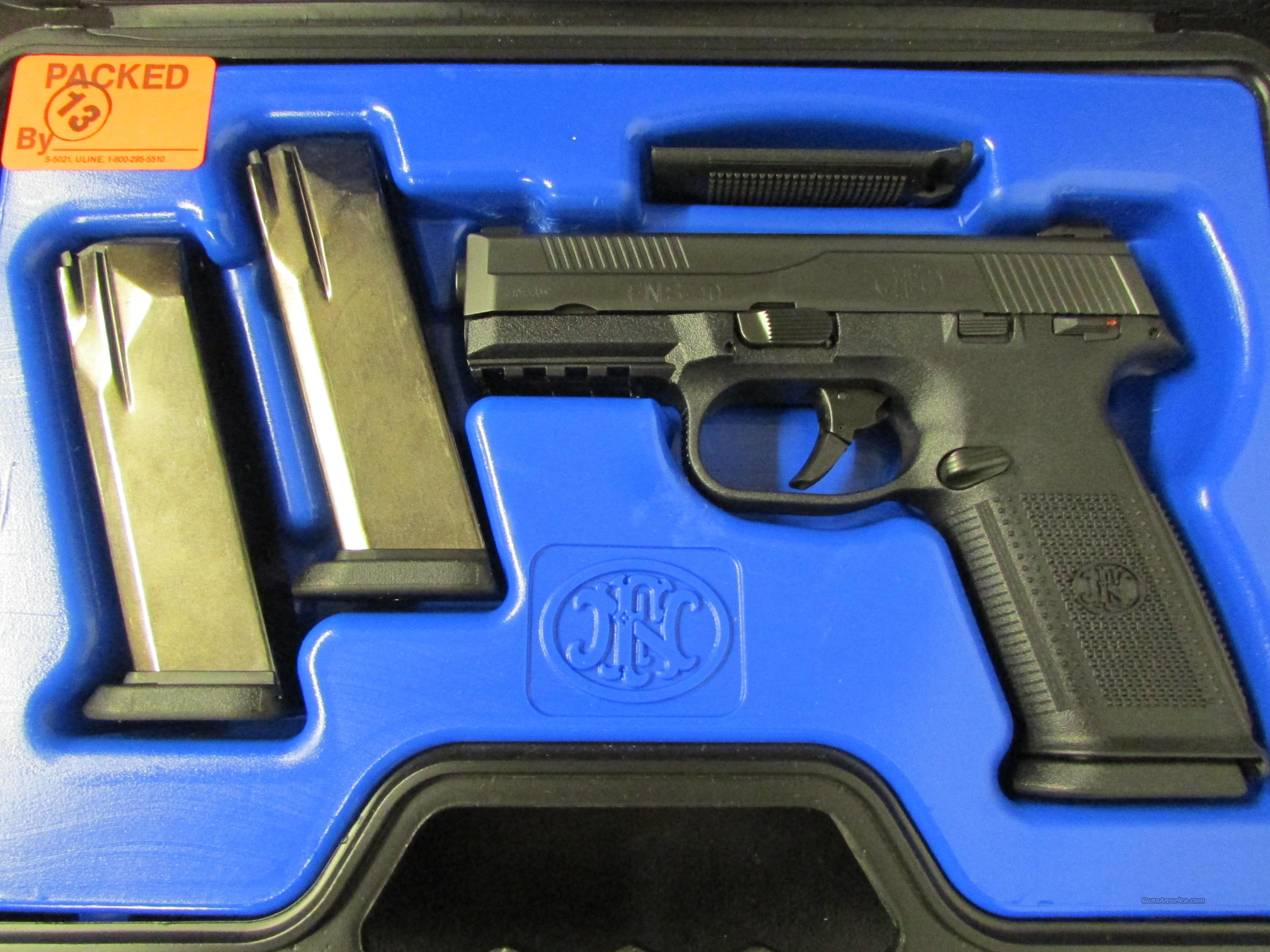 FNH-USA FN FNS-40 Black .40 S&W 14 Round  Guns > Pistols > FNH - Fabrique Nationale (FN) Pistols > FNP