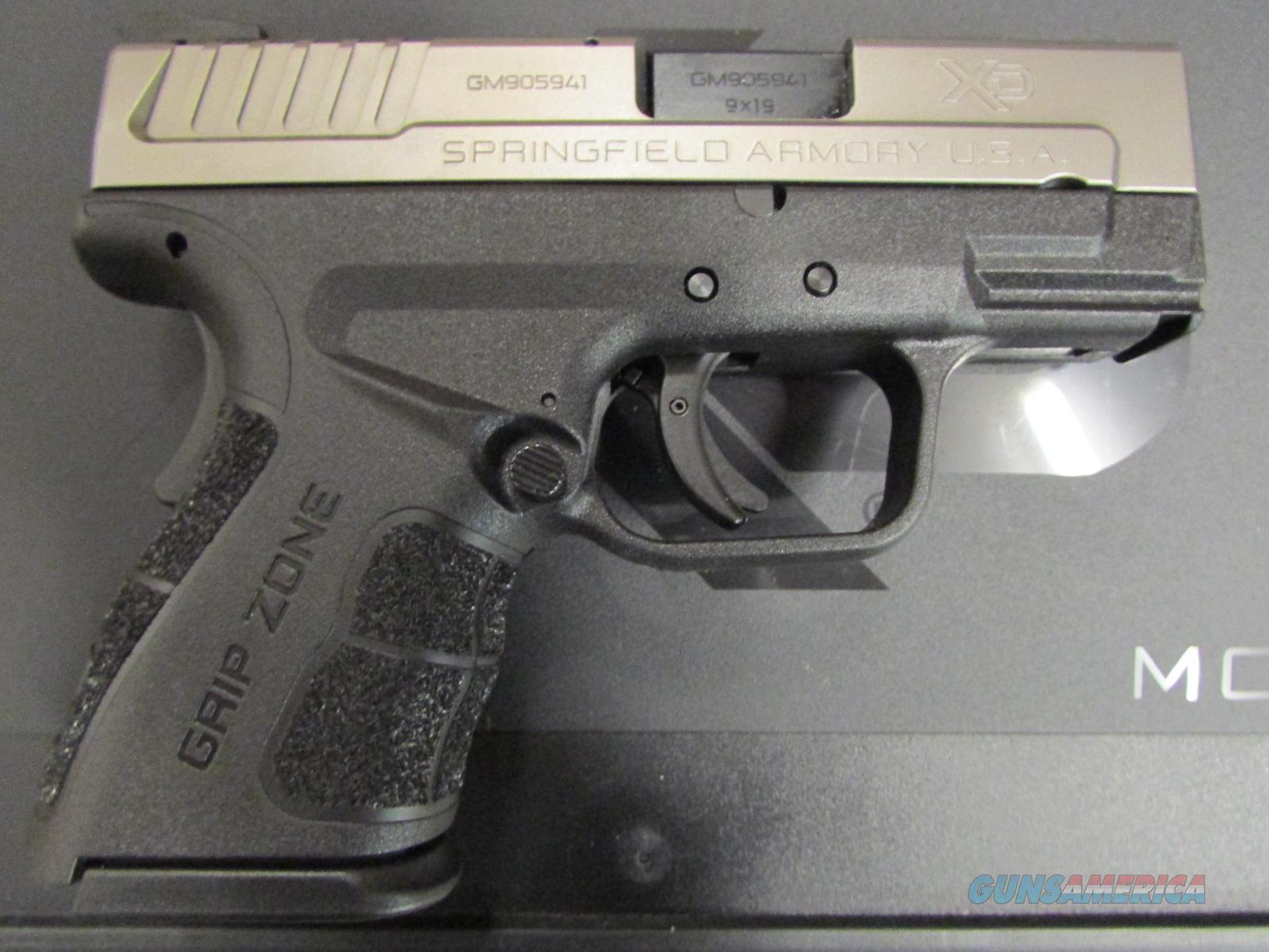 "Springfield XD MOD.2  3"" Sub-Compact Two-Tone 9mm XDG9821HCSP  Guns > Pistols > Springfield Armory Pistols > XD (eXtreme Duty)"