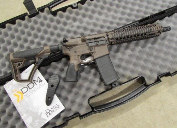 "Daniel Defense M4 MK18 10.3"" SBR CeraKote Brown 5.56 NATO 02-088-15028011  Guns > Rifles > Daniel Defense > Complete Rifles"