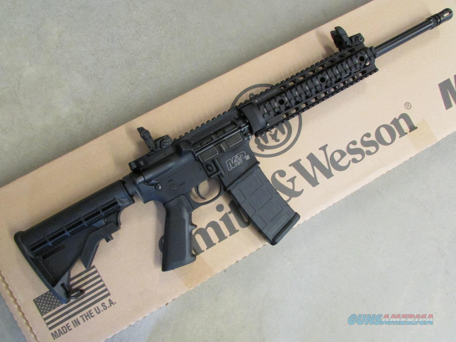 Smith & Wesson Model M&P15T Tactical Rail 5.56 / .223 811041  Guns > Rifles > Smith & Wesson Rifles > M&P