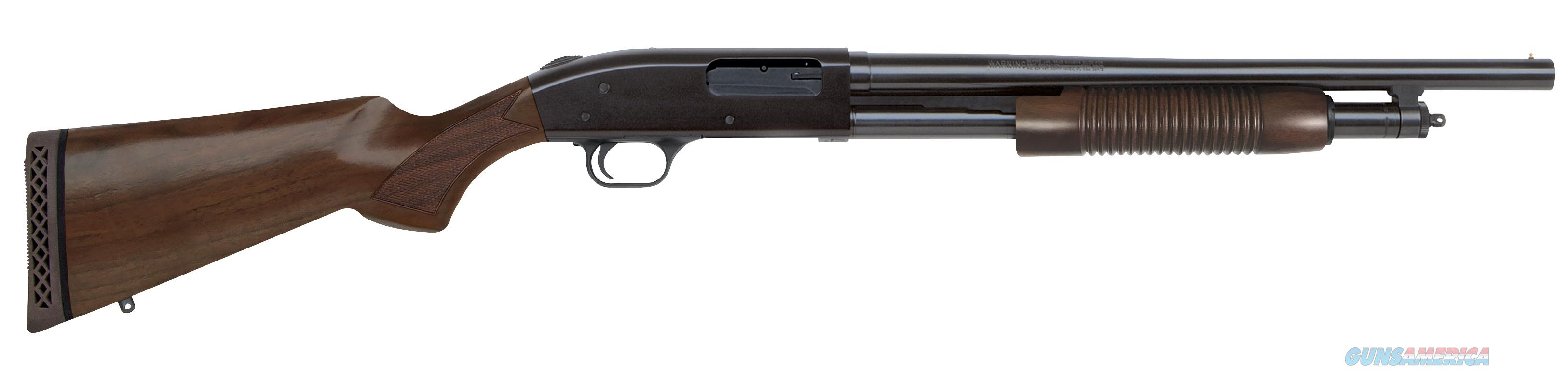 "Mossberg 500 Retrograde 12 GA 18.5"" Walnut 50429  Guns > Shotguns > Mossberg Shotguns > Pump > Tactical"