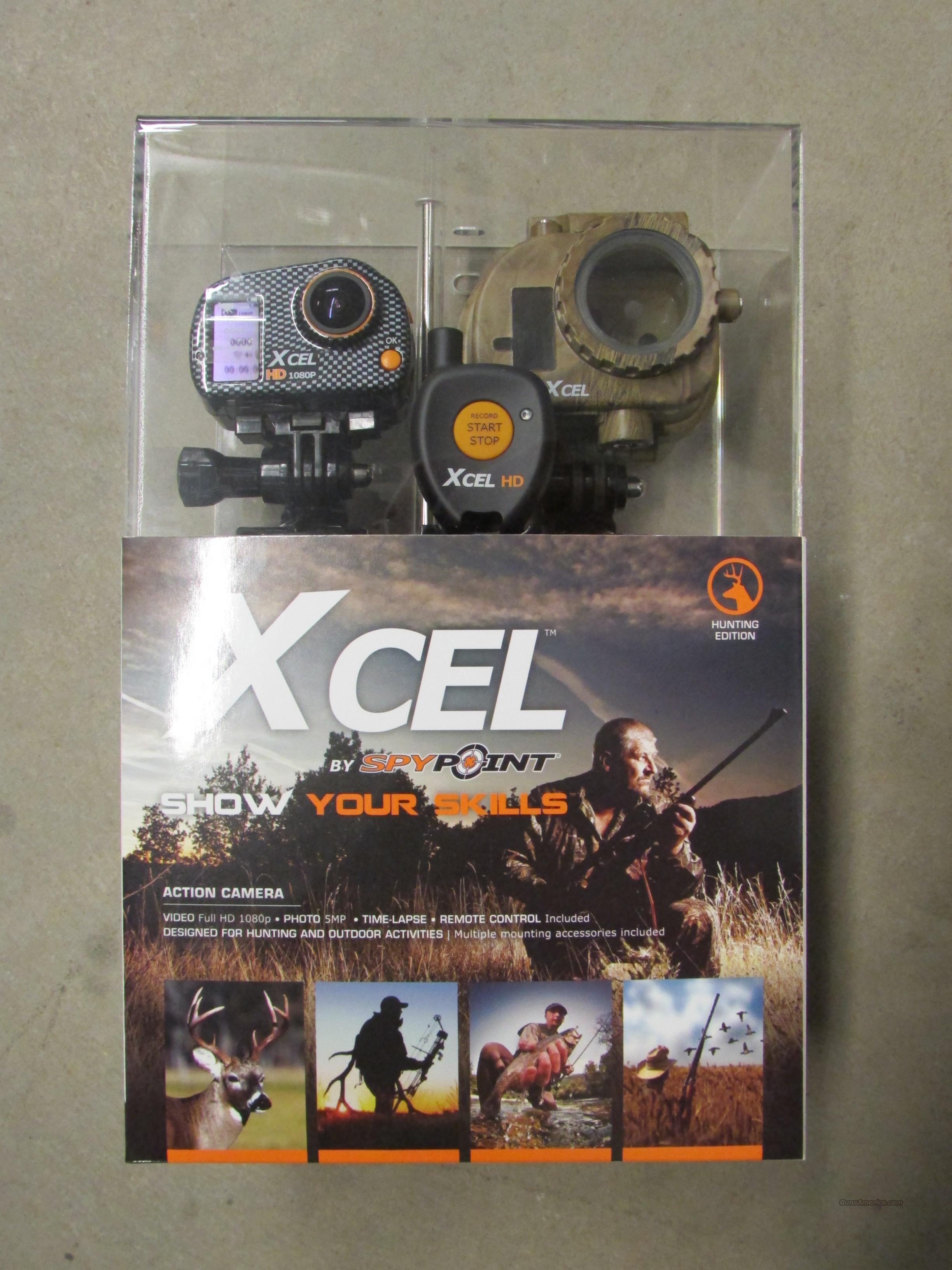 SPYPOINT MOUNTABLE XCEL HD HUNTING EDITION CAMERA/VIDEOCAMERA 1080P  Non-Guns > Scopes/Mounts/Rings & Optics > Non-Scope Optics > Other