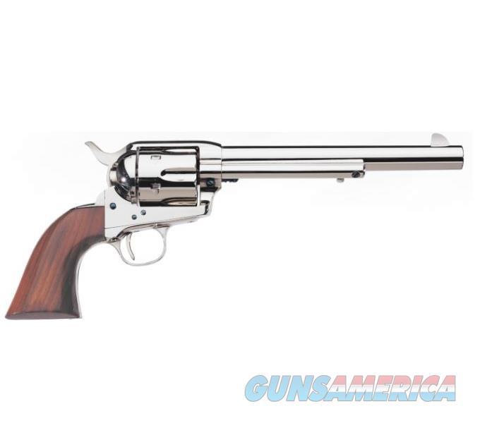 "Uberti 1873 Cattleman Nickel .45 Colt 7.5"" 344152  Guns > Pistols > Uberti Pistols > Ctg."