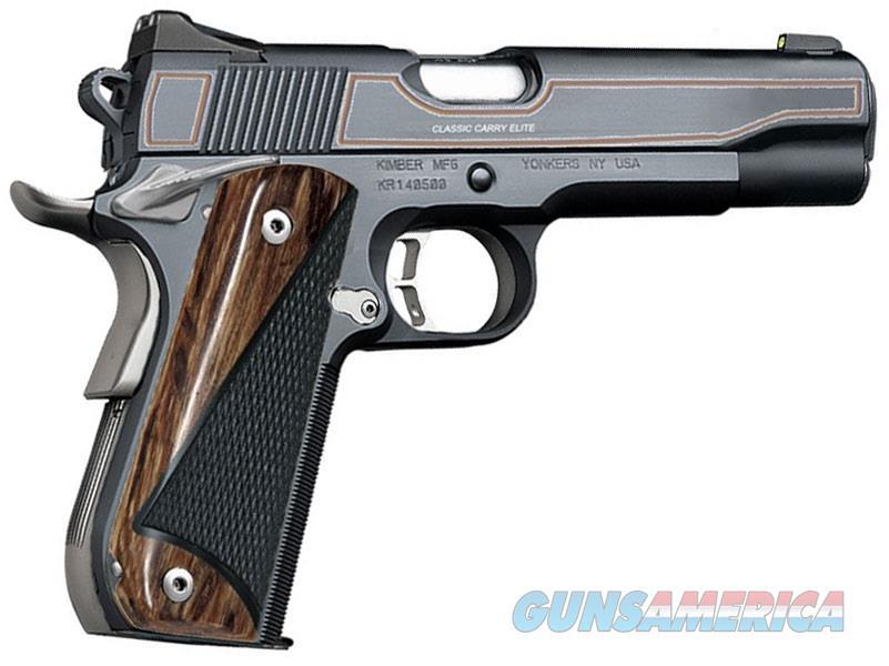 """Kimber Classic Carry Elite .45 ACP 5"""" Bi-Tone 3000299   Guns > Pistols > Kimber of America Pistols > 1911"""