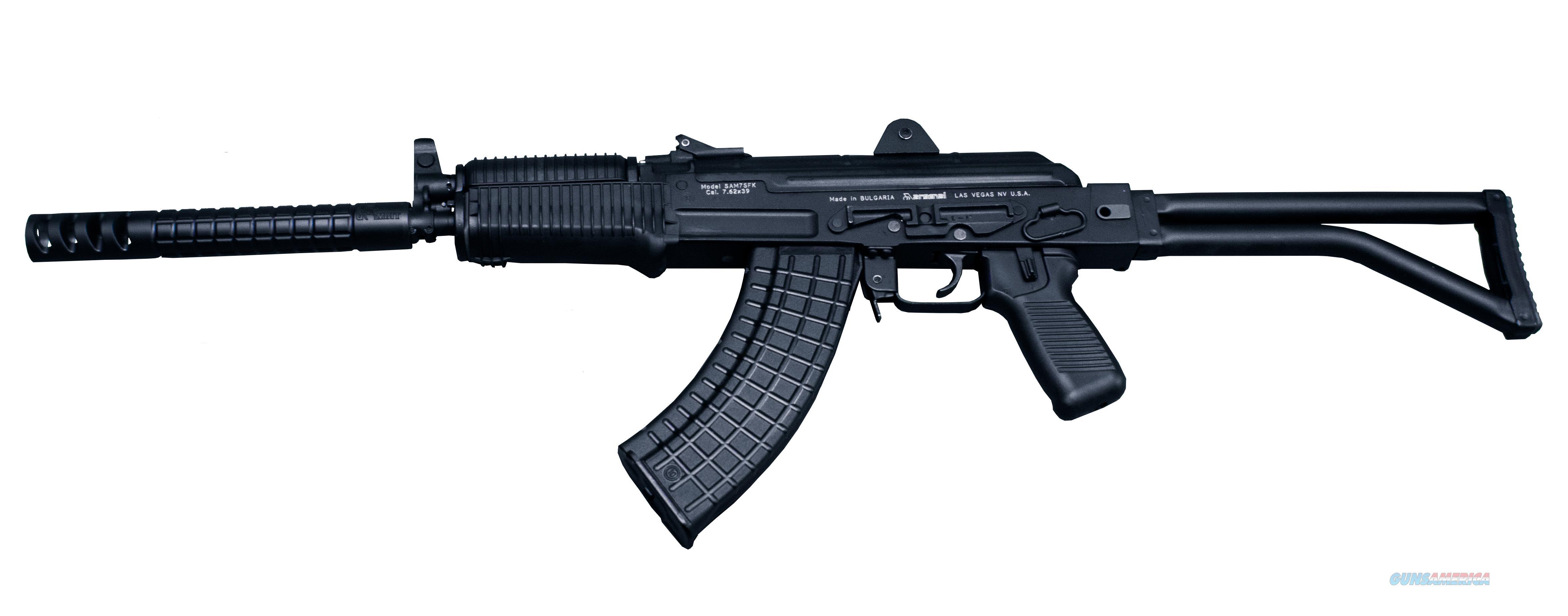 """Arsenal SAM7SFK-80 Semi-Auto 7.62x39mm 16.2"""" 30 Rds SAM7SFK80   Guns > Rifles > Tactical Rifles Misc."""