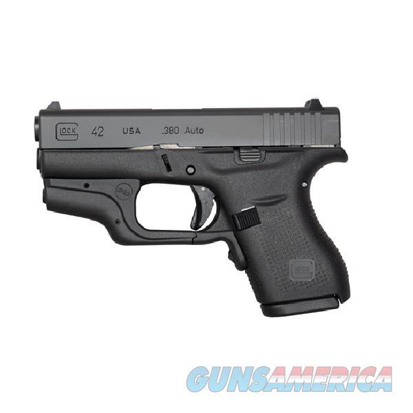 "Glock G42 Crimson Trace Laser 380 ACP 3.26"" UI4230201CTH   Guns > Pistols > Glock Pistols > 42"