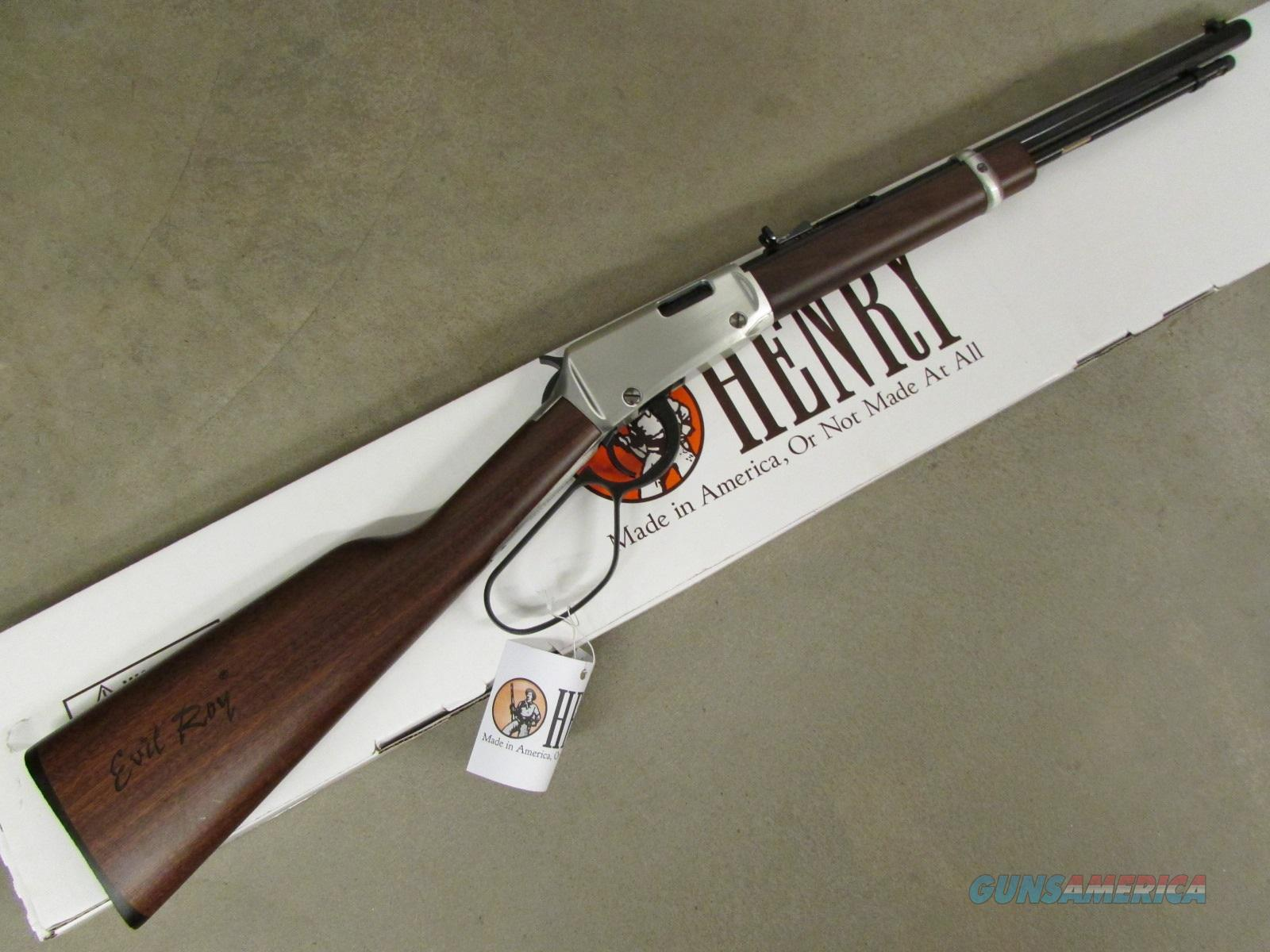 "Henry Frontier Carbine ""Evil Roy"" Edition .22 LR  Guns > Rifles > Henry Rifle Company"